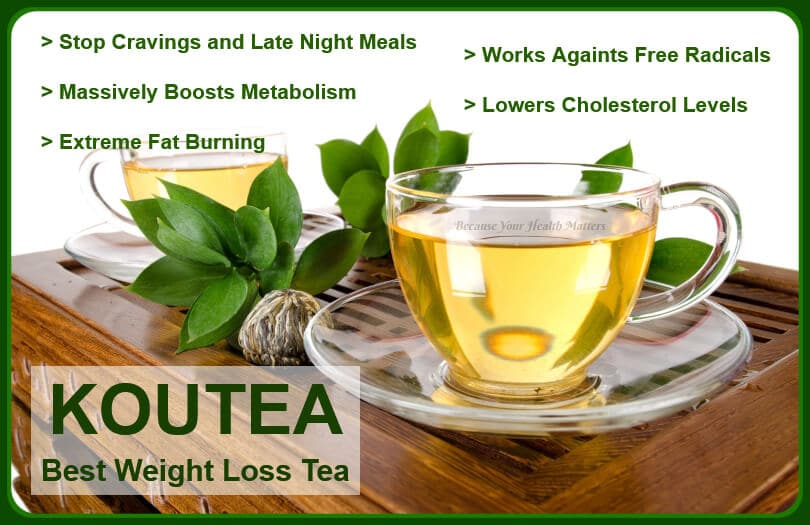 Weight Loss Tea - Koutea