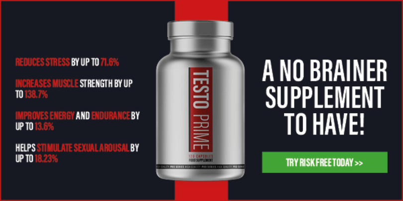 TestoPrime Reviews - Strongest Testosterone Booster Over the Counter