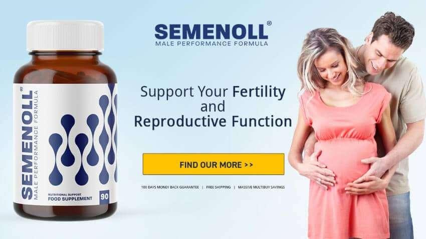 SEMENOLL The Best Male Fertility Supplement