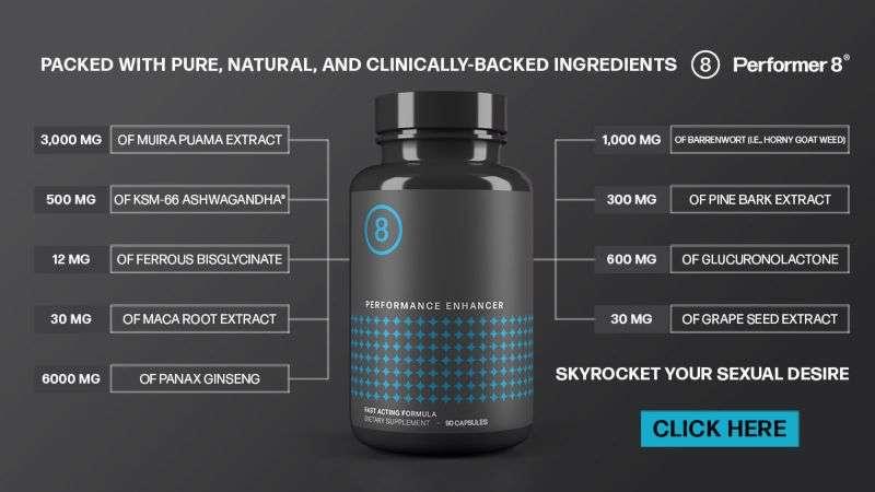 Performer8 Ingredients
